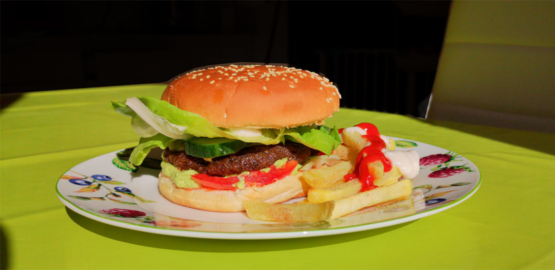 Rezept für vegane Hamburger bzw. Cheeseburger